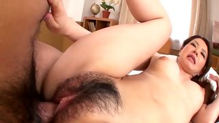 Horny redhead amateur hot MILF got banged on the bed