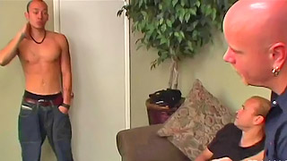 Handsome Asian dude got his hard cock blown out