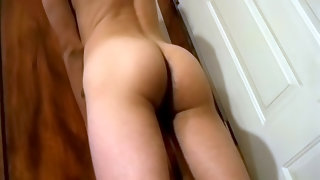Solo masturbation with rich twink jacking his penis