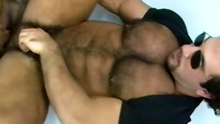 Juicy fella getting incredible oral from another dude
