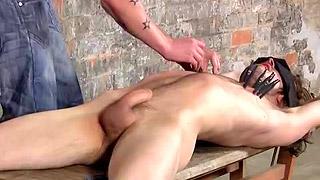 Handsome gay dude exposes his fantastic attractive body
