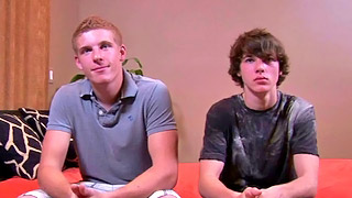 Two horny teen boys have amazing sex in position 69