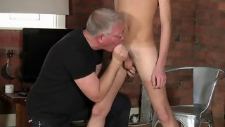 Nice buck naked dude gets his ass spanked