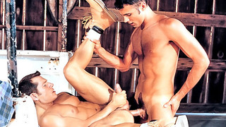 Kinky gay dude got his tight ass banged hard and rough