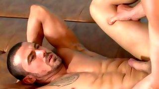 Delicious amateur cute guy shows his meat