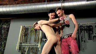 Kai gets satisfied with two hard cocks