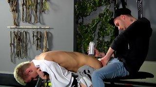 Reece Bentley indulges in foreplay with amazing guy