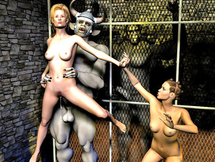 Smoking hot girls stuffed with huge alien cocks