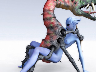Best collection of animated monster porn