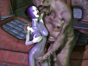 Hotties raped by evil monsters - The glorious fall