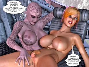 Busty elf had to finger hermaphrodite's cunt and suck dick