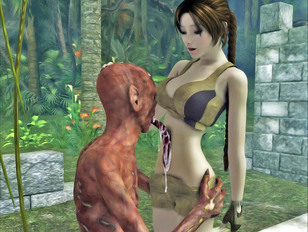 So hot anime sex tentacle porn and really sexy elf babes