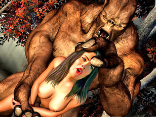 Wicked beasts raping and creaming hot babes