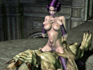So freaking horny alien with big dicks and wild nature