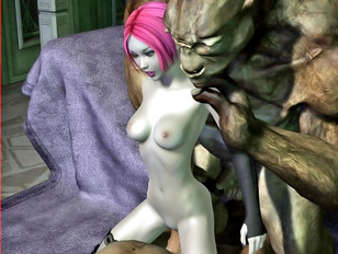 Huge boobs of our sweet elf babes will be treating you