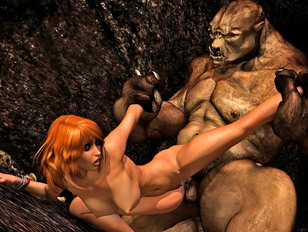 So freaking hot and really awesome 3d monster porn