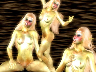 Hot collection of naked babes from fantasy realms