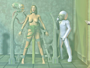 The horniest sluts in the galaxy in action