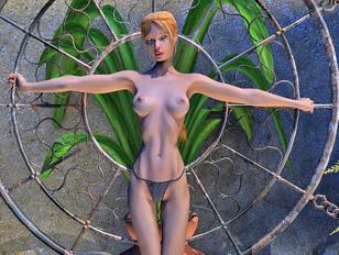 Golden dildo is the female paladins' secret weapon