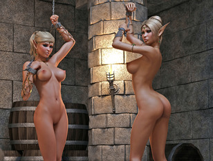 3d monster porn with pretty sluts banged by different creatures