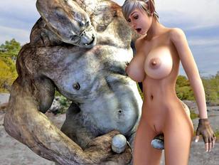 Really hardcore toon cumshot monster fuck porn pics