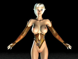 Hot collection of sex crazed alien girls