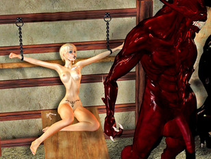 Great 3d evil porn that will make you super horny and so pleased