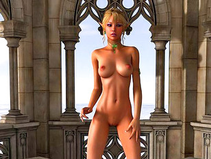 Insatiable elven queen finds herself a new boy toy