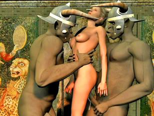 3d XXX world with perverted bondage and orgies
