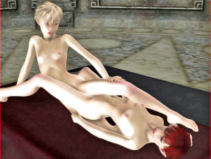 Hot girls made into monsters' sex slaves