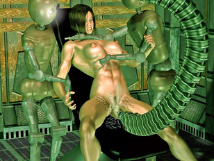 Best collection of fantasy porn with fucking machines