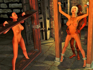 3d sex game with busty blonde