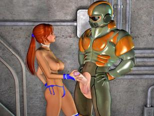 Kinky 3d sex galleries with interspecies xxx