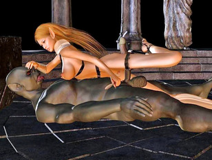 Horny werewolf needs a tight asshole for his throbbing cock