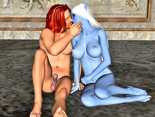 Elf 3d collection with BDSM torturing and red demons