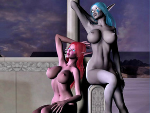 Crazy animated anal sex with sexiest babe on the planet Earth