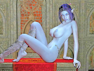 Really wild and so awesome 3d elves fucking sexy chicks