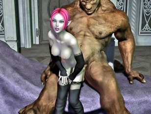 Great moster fuck with asshole busting and sucking dick