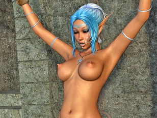 Passionate porncraft 3d vixens are having good fuck afterwards!