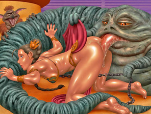The best 3d elf fucked hard with gigantic cock of a monster