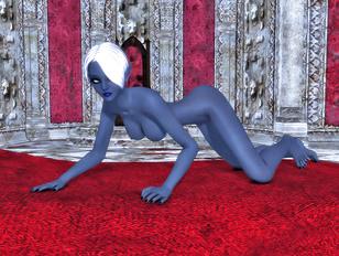 Dark elf hotties are the sluttiest babes in the universe