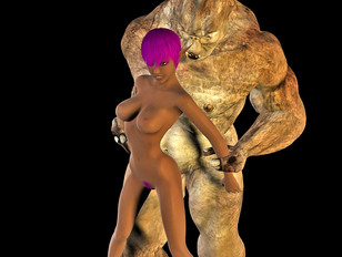 Alien porn with monster from another planet and cute chick