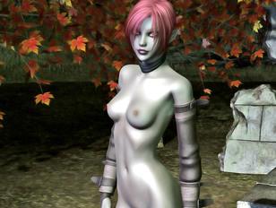 Hot dark elf babes flaunting their epic tits