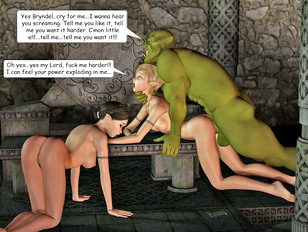 Kinky threesome with a horny troll and two hotties