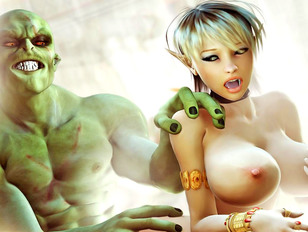 Best monster-human brutal sex scene ver now in 3D and free