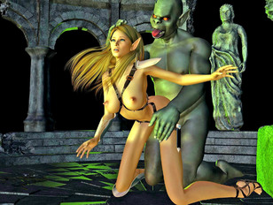 Amazing monster cartoon sex featuring pretty young chicks fucked by ugly monsters.