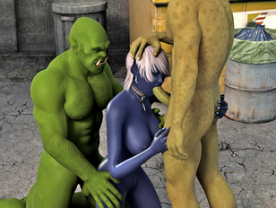 Extreme 3d anal monster sex gallery filled with pics of sexy 3d chicks.