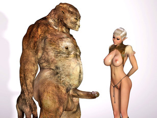 His monster hormons went crazy and his cock must enter some cunt