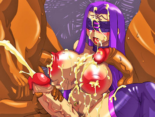 Cartoon girl and shemale getting covered with multiple cumshots - hardcore gallery