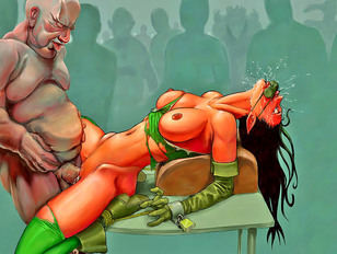 Amazing 3d gallery of busty babes having sex with an evil demon from hell.